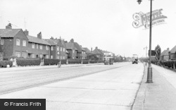 Fallowfield, Wilbraham Road c.1955