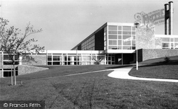 Falmer, Brighton College c.1965