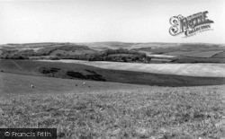 Falmer, From The Downs c.1960