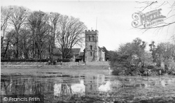 Falmer, St Lawrence Church c.1955