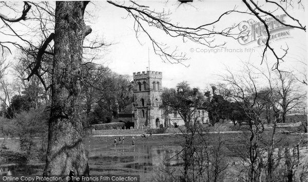 Photo of Falmer, St Lawrence Church c.1960