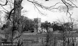 Falmer, St Lawrence Church c.1960