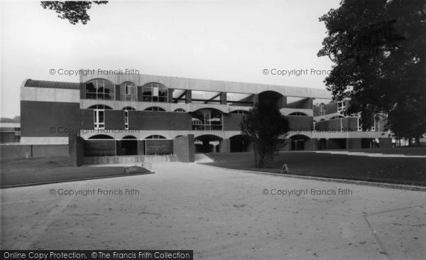 Photo of Falmer, Sussex University c.1965
