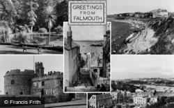 Falmouth, Composite c.1950