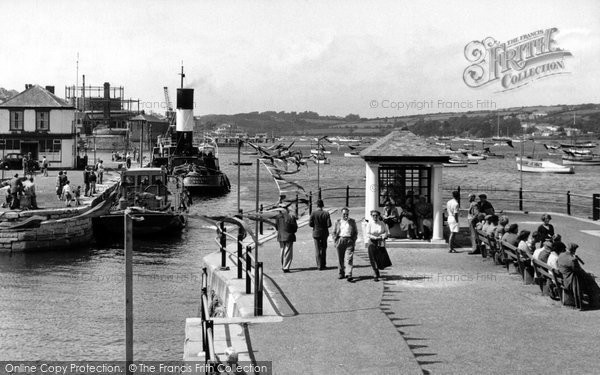 Photo Of Falmouth Custom House Quay C 1955 Francis Frith