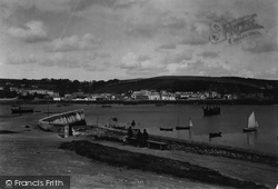 Falmouth, Flushing From Green Bank Hotel 1890