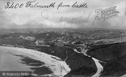 Falmouth, From Castle c.1876