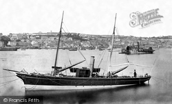 Falmouth, From The Docks c.1875