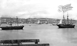 Falmouth, From The Pier c.1876