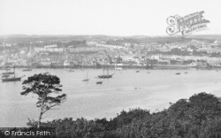 Falmouth, From Trefusis 1895
