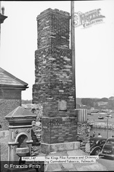 Falmouth, Kings Pike Furnace And Chimney c.1950