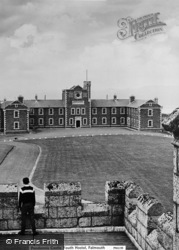 Falmouth, Pendennis Castle Youth Hostel c.1965