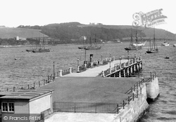 Falmouth, Prince Of Wales Pier 1890