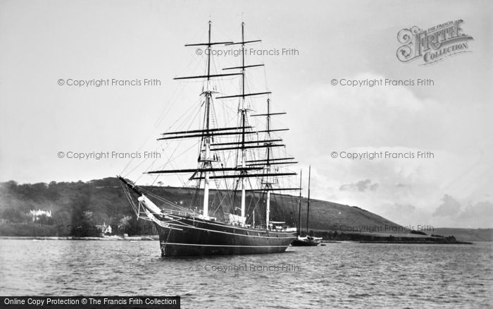 Photo of Falmouth, The Cutty Sark 1924