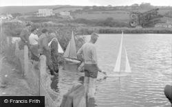 Falmouth, The Lake, Swanpool 1955