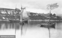 Falmouth, The Penryn River c.1876
