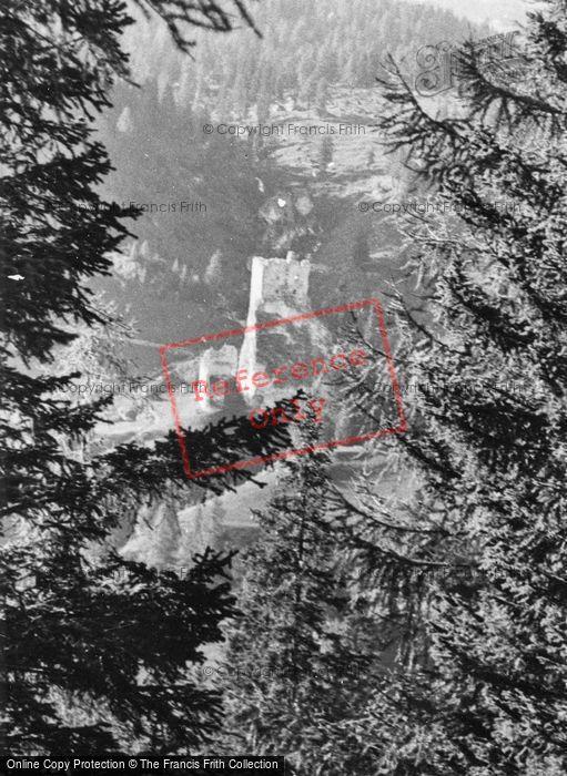 Photo of Falzarego Pass, Buchenstein Castle 1938