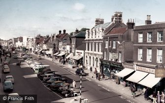 Fareham, West Street c1960