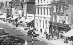 Fareham, West Street, Shops 1960