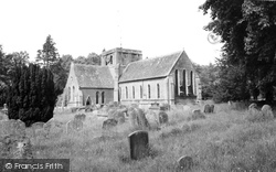 Faringdon, All Saints Church c.1955