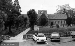 Faringdon, All Saints Parish Church c.1965