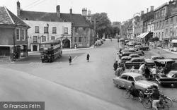 Faringdon, Market Place c.1960