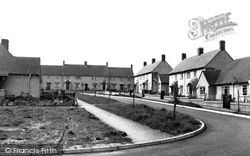 Faringdon, Marlborough Gardens c.1955