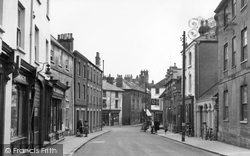 Faringdon, Marlborough Street c.1955