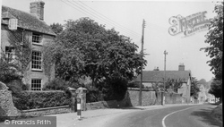 Faringdon, Stanford Road c.1955