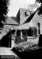 Faringdon, The Church c.1960