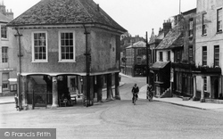 Faringdon, The Old Town Hall c.1950
