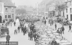 Faringdon, The Sheep Market 1904