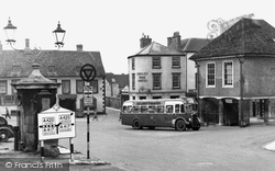 Faringdon, The Square c.1955