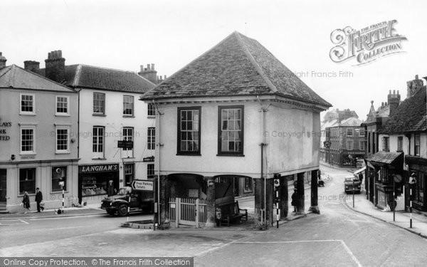 Photo of Faringdon, Town Hall c.1965