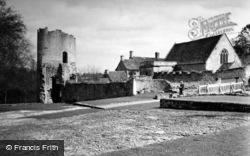 Farleigh Hungerford, Castle 1951