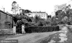 Farleigh Hungerford, Castle And Castle House c.1955