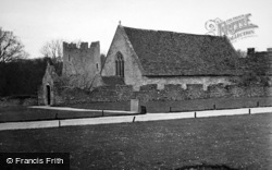 Farleigh Hungerford, Castle Chapel 1951
