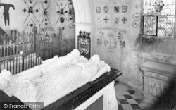 Farleigh Hungerford, Castle Chapel, Tomb Of Sir Edward Hungerford c.1955