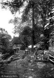 Farleigh Hungerford, Castle Tea Gardens 1907