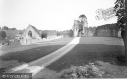 Farleigh Hungerford, Castle, The Main Gate And Chapel c.1960
