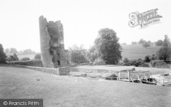 Farleigh Hungerford, Castle, The Tower c.1960