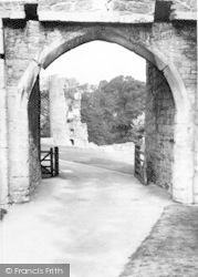 Farleigh Hungerford, Entrance To Castle c.1955