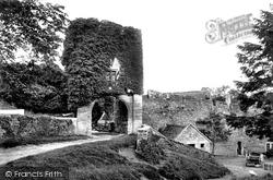 Farleigh Hungerford, Farleigh Castle 1907