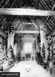 Farleigh Hungerford, Farleigh Castle, The Chapel Interior c.1900