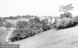 Farleigh Hungerford, General View c.1960