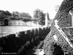 Farleigh Hungerford, The Castle c.1900