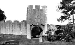 Farleigh Hungerford, The Castle c.1955