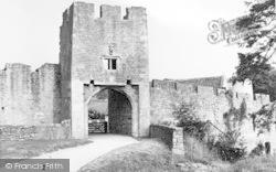 Farleigh Hungerford, The Castle Gateway c.1955