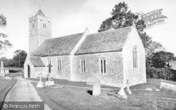 Farleigh Hungerford, The Church c.1960