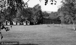 Farley Green, Playing Fields And Chalets, Tree Tops Holiday Camp c.1955